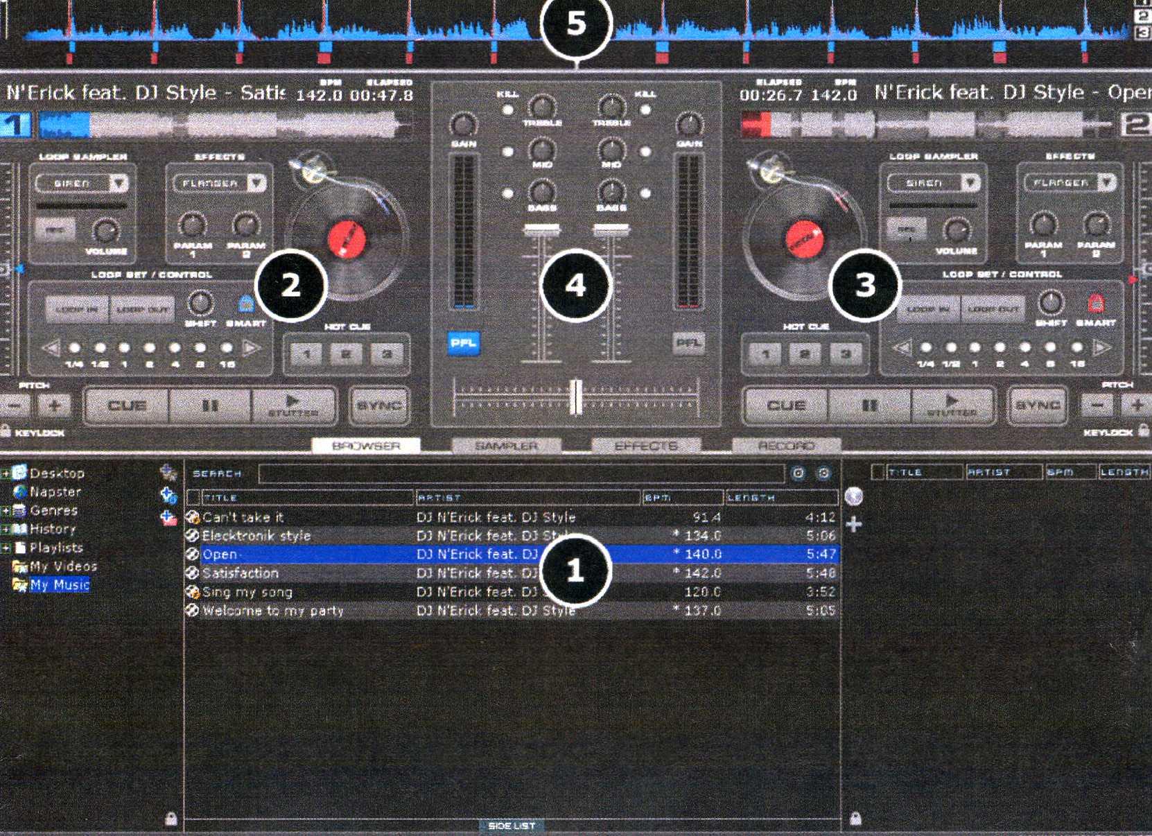 Virtual Mixer Software Img